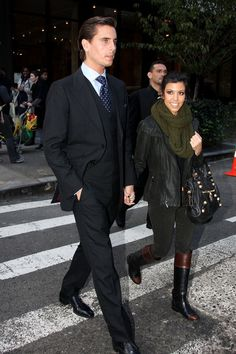 Kourtney Kardashian Photo - Kourtney Kardashian and Scott Disick Take a Stroll in NYC