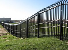 Stalwart IS Anti-Ram High-Security Fence