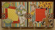 Monique Griffith Designs: Toy Story Layout & New Blog Candy