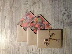 Ouvrée écrit ensemble - thème du post lettre papier - enveloppe brune avec rustique brun papier vintage - beige - voyage - europeanstreettea...