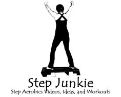 Step Aerobics Videos, Choreography, and Breakdowns for exercise, fitness, health, and losing weight.
