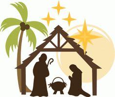 Silhouette Design Store - View Design #52395: nativity