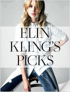 PREV  1 of 15  AUTOPLAY     NEXT  Elin Kling         TAGS: Check It Out, Elin Kling, Elin Kling, Guess by Marciano, Slideshow