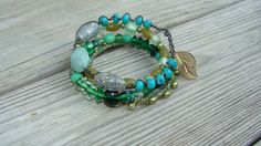 gypsy boho bohemian jewelry bracelets by madhattresscreations, $26.99