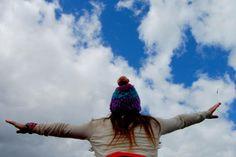Hermoso cielo de Chiloe , Chile.
