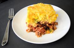 Have a Healthy Taco Night with Southwestern Taco Casserole with Cornbread Crust. Add a few extra veggies to create a deliciously healthy twist on a classic.