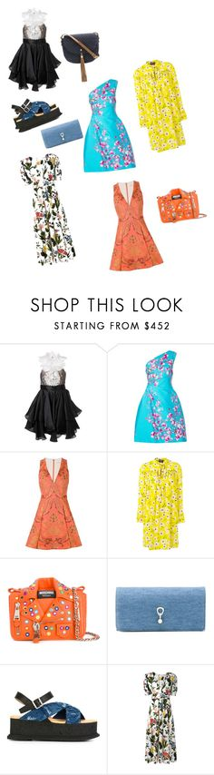 """Dress Of The Day..**"" by yagna ❤ liked on Polyvore featuring Marchesa, Monique Lhuillier, Alice + Olivia, Rochas, Moschino, Ermanno Scervino, MM6 Maison Margiela, VIVETTA, Xaa and vintage"