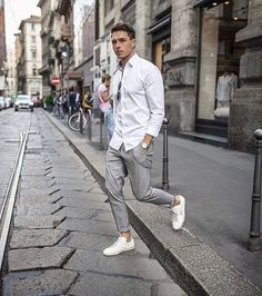 "451 Likes, 1 Comments - New Men's Style (@thenewmensstyle) on Instagram: ""Find the best street style here #Everyday"""