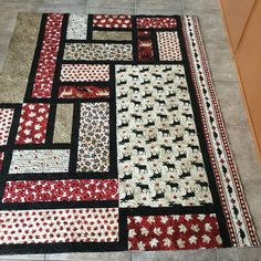 Oh Canada Collection by Northcott Fabrics.  Created by Quilts Inspired by Eva, Gwenne Pottier.  Auction Quilt for National Defence, November 2015
