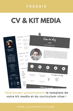 Resume Templates and Resume Examples - Resume Tips Microsoft Resume Templates, Resume Template Free, Kit Media, Free Resume Examples, Curriculum Vitae, Resume Tips, Writing Tips, Blog, Advice