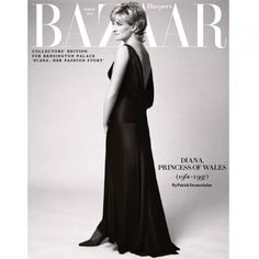 This portrait of Diana, Princess of Wales by Patrick Demarchelier was first published in Harper's Bazaar in December 1995 in honour of her visit to the United States to receive a charitable award for her philanthropic work with children. Encapsulating Diana's timeless elegance, the striking image pays tribute to a true royal style icon. Celebrate the launch of the exhibition 'Diana: Her Fashion Story'