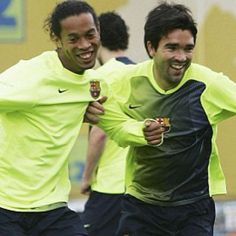Ronaldinho and Deco  FC Barcelona