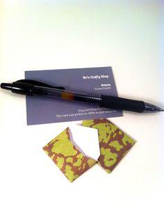 Secret Mini Envelopes Stationary Set - 30. $12.00, via Etsy.