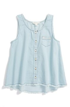 Free shipping and returns on Tucker + Tate Denim Pocket Tank (Little Girls & Big Girls) at Nordstrom.com. A faded tank fronted with a single chest pocket offers down-home style in spades.