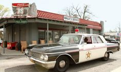 Wally's Service Station is an original service station built in 1937 and operated as a Gulf Station. Andy Griffith