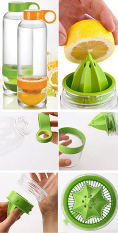 Fruit Infused Water Bottle ❤︎ #fitness #exercise #healthy