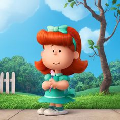 Exclusive first look: Thanks to the 'Peanuts Movie,' here's your new Little Red-Haired Girl - The Washington Post