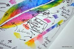 """Dion Dior: Watercolor Pencils & The """"Epsilon"""" Sketchbook"""