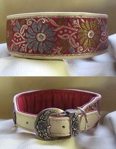 Perfect collar for a FLOwerdog  http://www.edle-halsbänder.de/