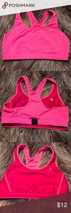 Champion Reversible Sports Bra Champion Reversible Sports Bra. I believe it's a size small. It's pink! Champion Intimates & Sleepwear Bras