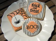 Bambella Cookie Boutique | halloween stripes
