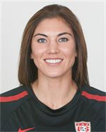 Hope Solo by the stats.    Sport:Soccer    Birthdate: 7-30-1981    Birthplace: Richland,WA    Hometown: Richland, WA    Ht/Wt: 5'9''/ 153 lbs