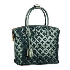 The iconic Lockit has beautiful reinterpreted in bold Monogram Fascination. Soft lambskin, delicate matt embroidery and glossy patent leather combine to create an exquisite blend of textures. Louis Vuitton Handbags, Purses And Handbags, Louis Vuitton Damier, Vuitton Bag, Louis Vuitton Scarf, Louis Vuitton Wallet, Louis Vuitton Online Store, Beautiful Handbags, Luxury Bags