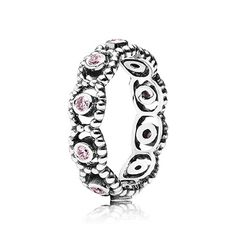 PANDORA | Pink Romance Ring
