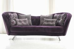 Isabella fabric sofa - High Quality, Hand Crafted Leather Sofas: Darlings of Chelsea Futon Sofa, Tufted Sofa, Sectional Sofas, Couches, Lounge Furniture, Furniture Design, Modern Leather Sofa, Leather Sofas, Quality Sofas