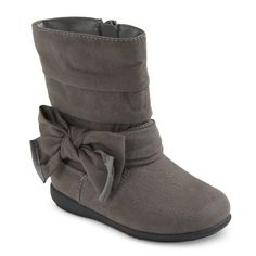 Target Toddler Girl's Cherokee® Judy Fashion Boots    size 11 grey fall 2014
