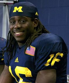 Go Blue! QB Denard Robinson leads the Michigan Wolverines.