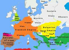 """... Europe in 814 CE..."" (About History)"