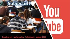 Rezolvare Subiect I -- Tehnologic - Matematica - Bac August 2018 Tech Companies, Company Logo