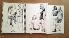 Зарисовки людей - Сообщество творческого выдоха