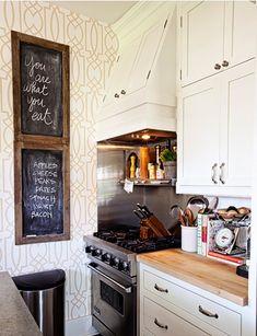 Especial cozinha: decorando com quadro-negro (lousa)