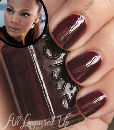 Nail The Look - The Women of Star Trek Into Darkness | All Lacquered Up : All Lacquered Up - Essie: Wicked