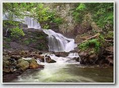 again, love the mountains and streams! North Carolina Cabins, North Carolina Mountains, Places Ive Been, Places To Visit, Nc Mountains, Blue Ridge Parkway, Estate Homes, Waterfalls, Rivers