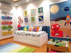 Erkek , Kız Çocuk Odası Modelleri ve Örnekleri 'ni Bulabilirsiniz. Evlerin en renkli, en hoş bölümleri arasında kuşku yok ki çocuk odaları başta gelir. Çünkü çocuk odaları hem içindeki genç arkadaşlardan dolayı, hem de süsleme ve renk seçimlerinden dolayı eve enerji verir. Gerek canlı renklerin yoğun kullanılması, gerek ise seçilen malzeme ve eşyaların dinamik bir enerji ile odaya ışık saçması ilgi görür. Her ev için çocuk odaları bu nedenlerden dolayı titizlikle hazırlanır. Anne ve babal...