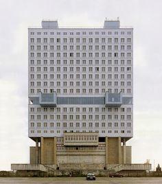 House of Soviets, Kaliningrad, Russia, 2012.   © Nicolas Grospierre