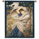 Wayfair - Boreas BW Wall Hanging...by Fine Art Tapestries