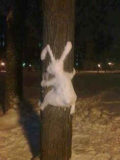 Schnee in Deutschland Schnee In Deutschland, 3d Figures, Snow Sculptures, Snow Art, Photo Images, Snow Bunnies, Bugs Bunny, Bunny Art, Winter Fun