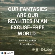 Today's repost of a re-quote. Thanks @cdh77! with @repostapp. #youareabadass…