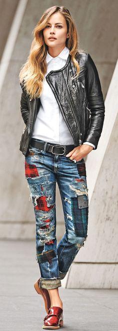 jeans DIY idea