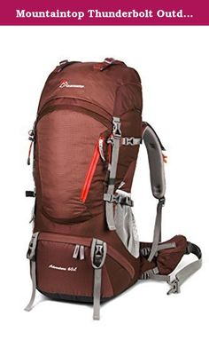 Mountaintop Thunderbolt Outdoor Waterproof Hiking Climbing Backpack Maroon 60L. About Mountaintop For more than 30 years, Mountaintop had designed and manufactured various types of practical and outstanding backpacks, travel bags, camera cases, knapsacks, etc., providing professional products for tour pals and typical travelers. The company has developed thousands of Self-owned Brand products, providing more choices to consumers. We have the experience and technology to ensure quality…