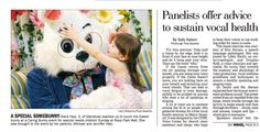 "Love this picture that appeared in the Pittsburgh Post-Gazette from the 2013 ""Caring Bunny"" event at Ross Park Mall."
