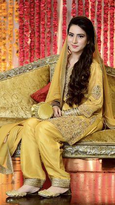 Pakistani Mehndi Dress, Bridal Mehndi Dresses, Asian Bridal Dresses, Pakistani Wedding Outfits, Bridal Dress Design, Pakistani Wedding Dresses, Pakistani Dress Design, Bridal Outfits, Bridal Style