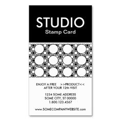 Custom cut out punch cards pinterest business cards template studio stripe stamp card business card templates by identica loyalty program punch cards colourmoves