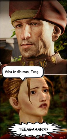 I remember seeing him first time in Tresspasser. I just stared at the screen. Couldn't accept it was him. But it was... hot Teagan is gone...