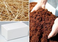 cultivar champiñones - materiales