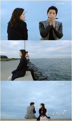 Song Joong Ki as Kang Ma Ru [15] with Moon Chae Won